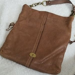 Fossil Vintage hobo taupe